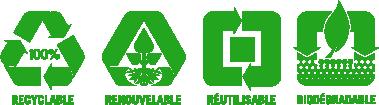 Logos développement durable